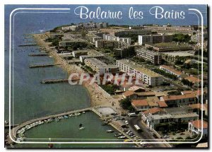 Postcard Modern Light and colors of Herault Balaruc aerial view