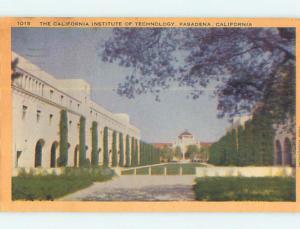 Linen CALIFORNIA INSTITUTE OF TECHNOLOGY Los Angeles - Pasadena CA Q9658