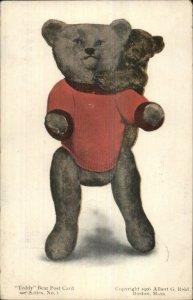 Teddy Bears Series #1 Albert G Reid 1906 Postcard