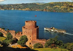 Turkey Istanbul The Fertresse and the Bospherus Postcard