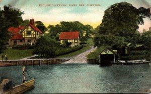England Chester Rvier Dee Eccleston Ferry