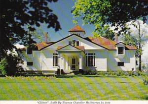 Canada Nova Scotia Windsor Haliburton House