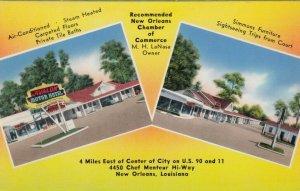NEW ORLEANS, Louisiana, 1950-60s; Avalon Motor Hotel