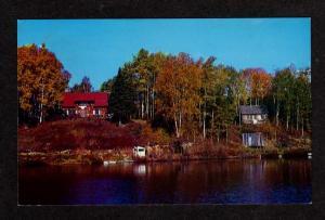 PQ Club Ste-Claire Ste Claire La Malbaie Quebec Canada Carte Postale Postcard PC