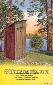 Outhouse Unused