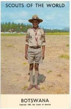 Scouts Of The World,Botswana,Southern Africa,1940-60s