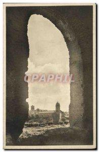 Old Postcard Roma Dalle Terme di Catacalla