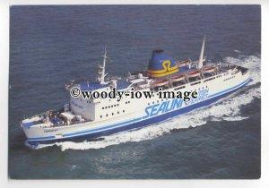 FE0644 - Sealink British Ferries Ferry - Horsa , built 1972 - postcard