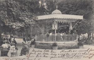 CONTREXEVILLE, Kiosque de la Musique, Vosges, France, PU-1903