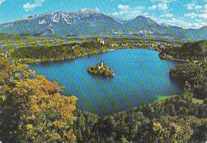 Yugoslavia Slovenija Bled Panorama