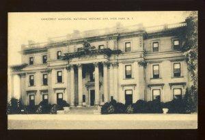 Hyde Park, New York/NY Postcard, Vanderbilt Mansion, National Historic Site