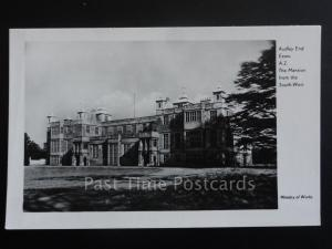 Essex: Audley End, The Mansion from South West, RP Old Postcard