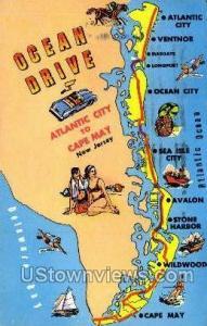 Ocean Drive  Cape May NJ 1966