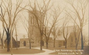 RP: SOMERVILLE , New Jersey , 1900-10s ; First Reformed Church