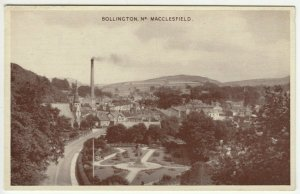 Cheshire; Bollington, Nr Macclesfield PPC By Dennis, Unposted, c 1950's