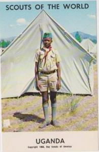 Boy Scouts of the World: #27 Uganda, 1968