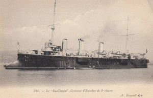 Warship : Le Du-Chayla , France , 1900-10s