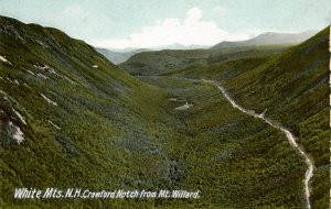 NH - Crawford Notch. View from Mt. Willard