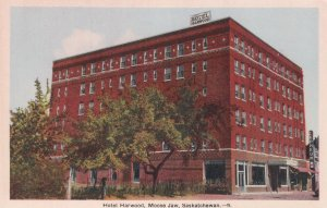 MOOSE JAW , Saskatchewan , Canada , 1930s ; Hotel Harwood