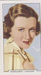 Gallaher Cigarette Card Portraits Of Famous Stars No 36 Margaret Linsay