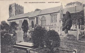 Newton Abbot , Teignbridge District , Devon, England , PU-1905 ; Wolborough C...