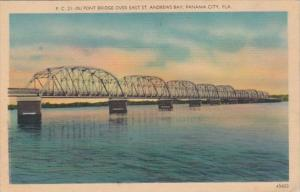 Florida Panama City Du Pont Bridge Over East St Andrews Bay