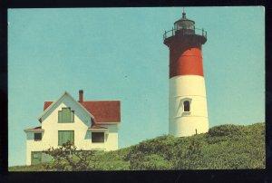 Eastham, Massachusetts/MA/Mass Postcard, Nauset Light/Lighthouse