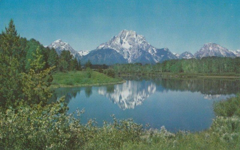 JACKSON HOLE , Wyoming , 1960 ; Teton Mountains