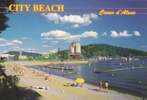 Idaho Coeur d' Alene City Beach