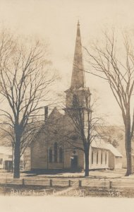 RP: CAVENDISH , Vermont, 1900-10s ; Baptist Church