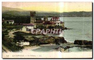 Old Postcard Napoule Le Chateau