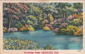 Indiana Greetings From Griffith