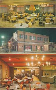 DAVENPORT , Iowa, 50-60s; Bishop Buffet, 3-views