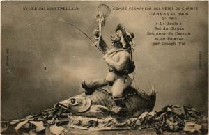 CPA Ville De Montpellier Comite Permanet Des Fetes (255538)