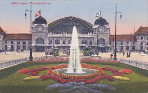 BASEL , Switzerland , 00-10s ; Hauptbahnhof