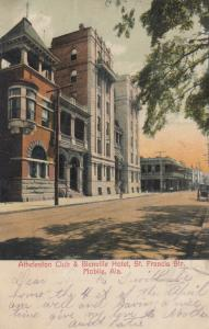 MOBILE , Alabama, 1907 ; St. Francis Street