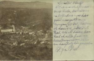 brazil, OURO PRETO, Minas Gerais, Panorama (1904) RPPC