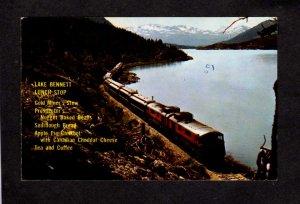 Yukon White Pass Yukon Railroad Train Bennet Lake Carte Postale Postcard Canada