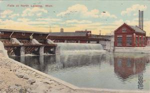Falls At NORTH LANSING, Michigan, PU-1913