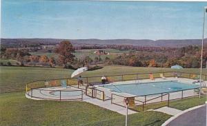 Swimming Pool , Breeze Manor Motel, BREEZEWOOD , Pennsylvania , 50-60s Exit 1...