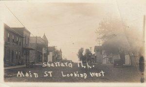 RP: SHATTARD , Illinois, 1900-10s ; Main Street