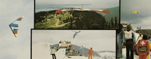 VANCOUVER , B.C. , Canada , 50-60s ; Skiing & Air Gliding, Grouse Mt