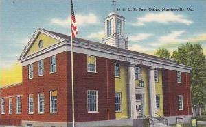 Virginia Martinsville U.S.Post Office