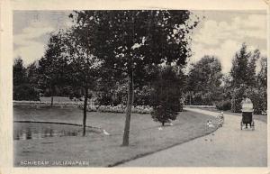 Netherlands Schiedam Julianapark Promenade Parc