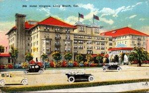 California Long Beach Hotel Virginia 1920
