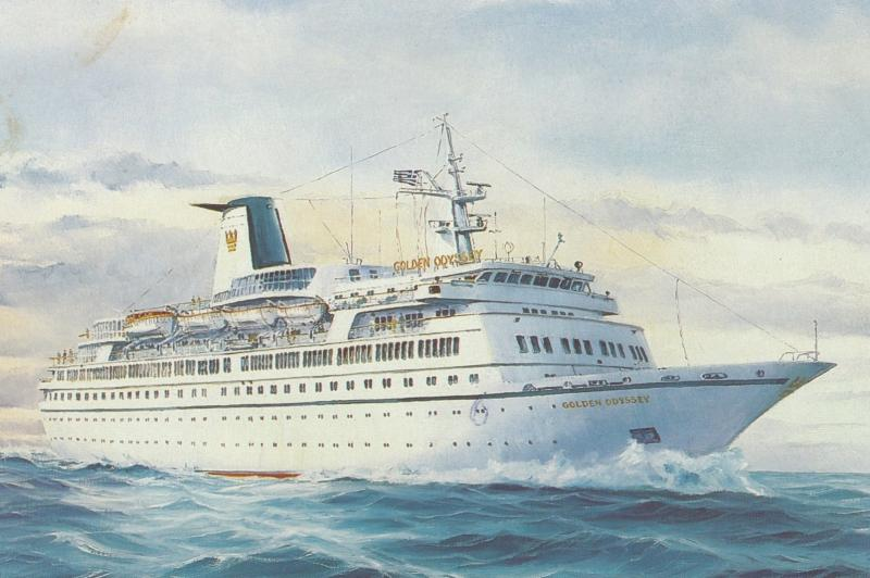 Cruise Ship : ms GOLDEN ODYSSEY , Royal Cruise Line , 1993