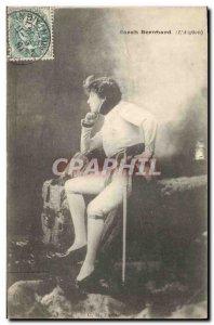 Old Postcard Woman Theater Sarah Bernhardt L & # 39Aiglon Napoleon