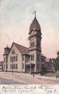 Rhode Island Pawtucket First Methodist Church 1906