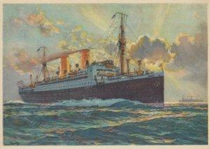 Norddeutscher Lloyd Bremen Line , Ocean Liner STUTTGART, 1920-40s