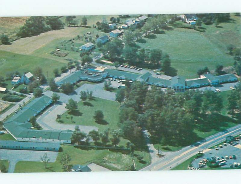 Unused Pre-1980 AERIAL VIEW OF TOWN Denver Pennsylvania PA n2554